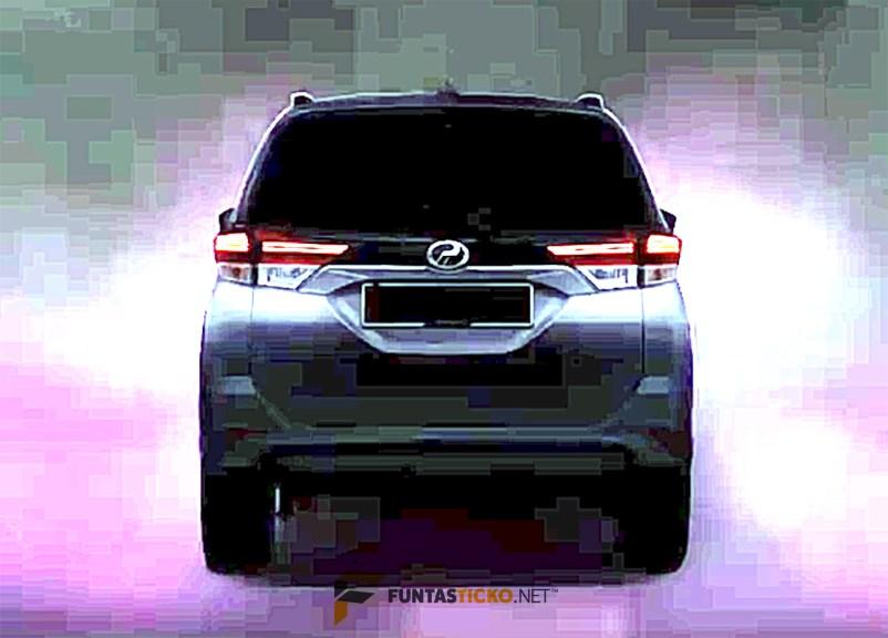Video acah SUV Perodua (D38L) - 3