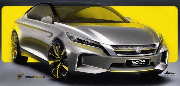 Proton Saga Merdeka Concept versi Mohd Kharuddin Shahrun - 1