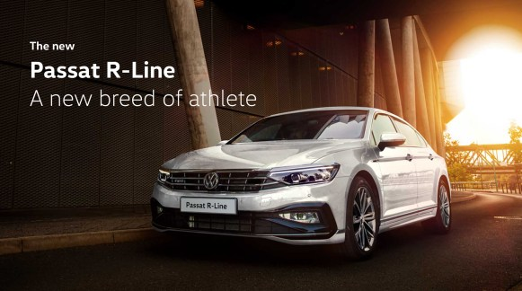 The new Passat R-Line