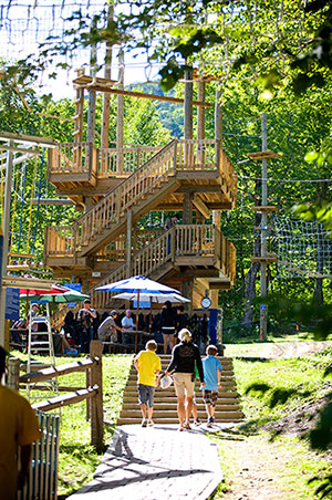 Jiminy Peak Aerial Adventure Park {photo courtesy of jiminypeak.com}