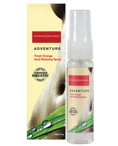 Organic adventure anal spray for women - 1 oz