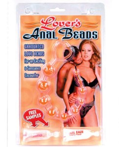 Lover's anal beads
