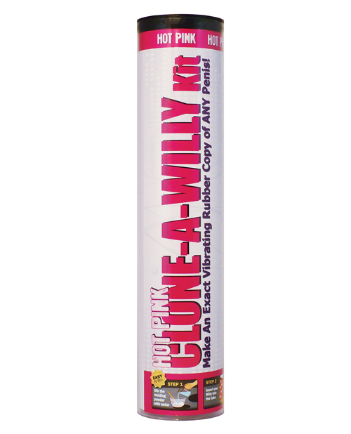 Clone-a-willy Hot Pink Vibrating