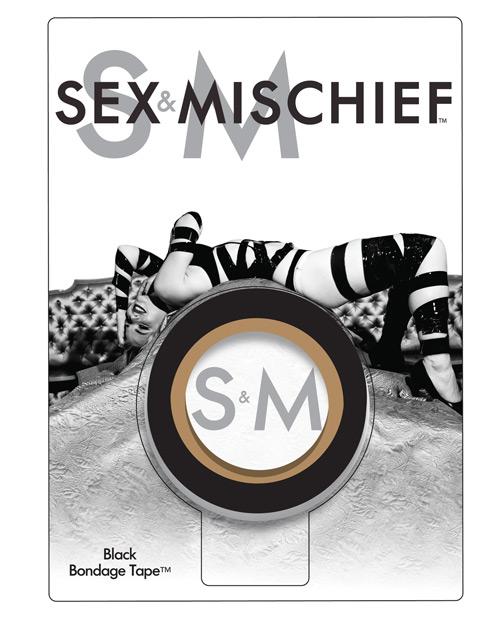 Sex & Mischief Bondage Tape - Black