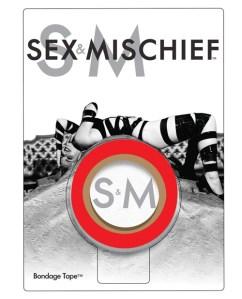 Sex & Mischief Bondage Tape - Red