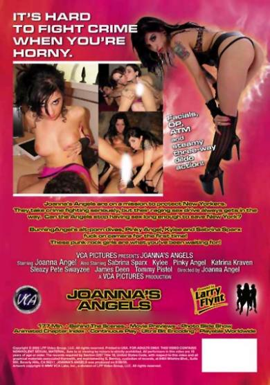 Joannes Angels Back Cover