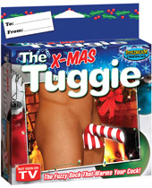 The X-Mas Tuggie - The Fuzzy Sock That Warms Your Cock