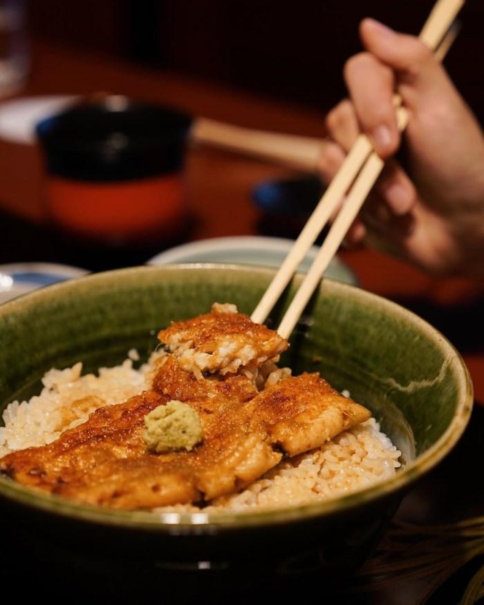 野田岩 鰻魚飯