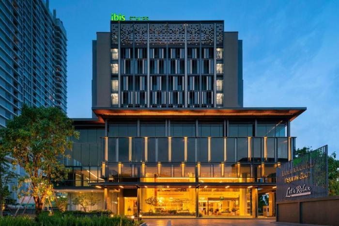 曼谷拉查達宜必思尚品飯店