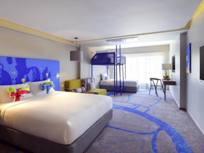 曼谷考山溫泰宜必思尚品飯店