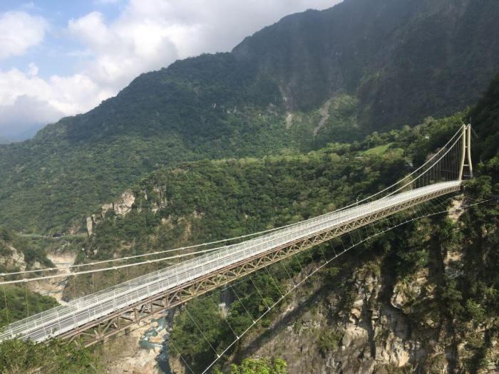 花蓮山月吊橋