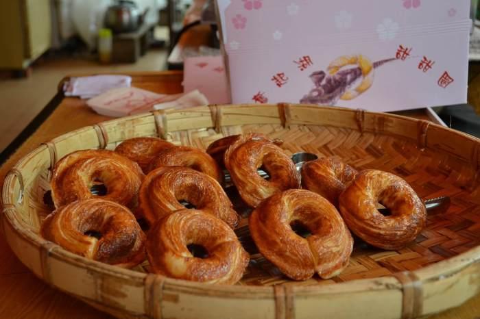 百年檜木烤甜甜圈