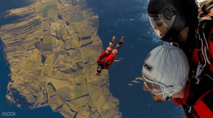 紐西蘭皇后鎮跳傘區
