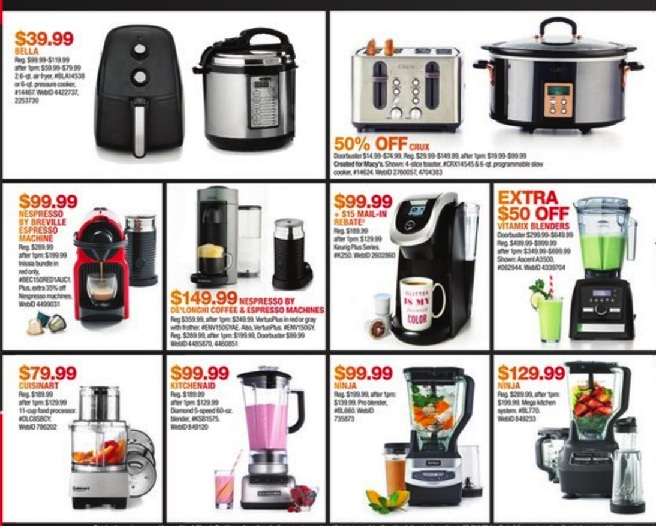 Kitchen Appliance And KitchenAid Mixer Deals For Black
