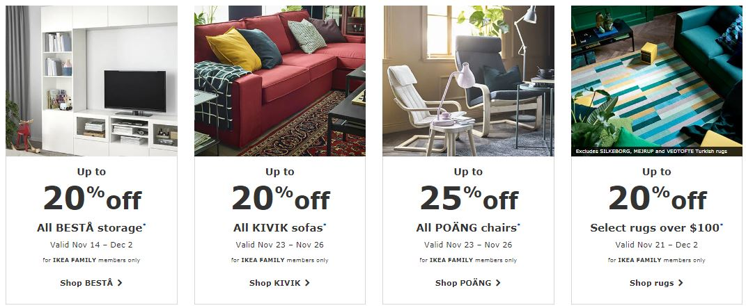 Ikea Cyber Monday 2019 Sale Furniture Deals Funtober