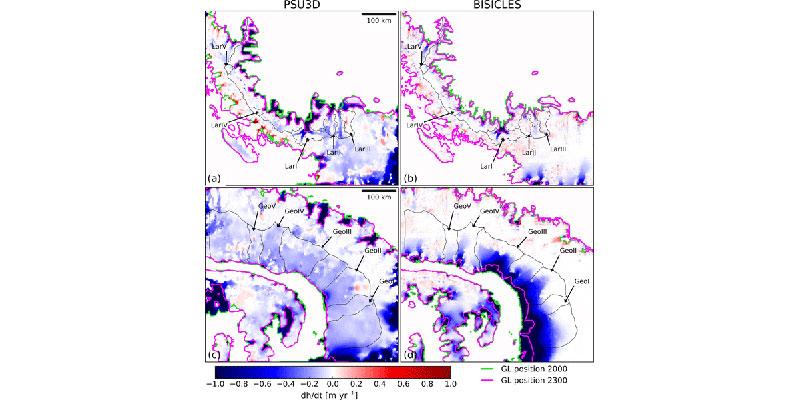 Novo Estudo Indica O Aumento Do Nível Do Mar Após O Colapso Das Plataformas De Gelo Da Antártida