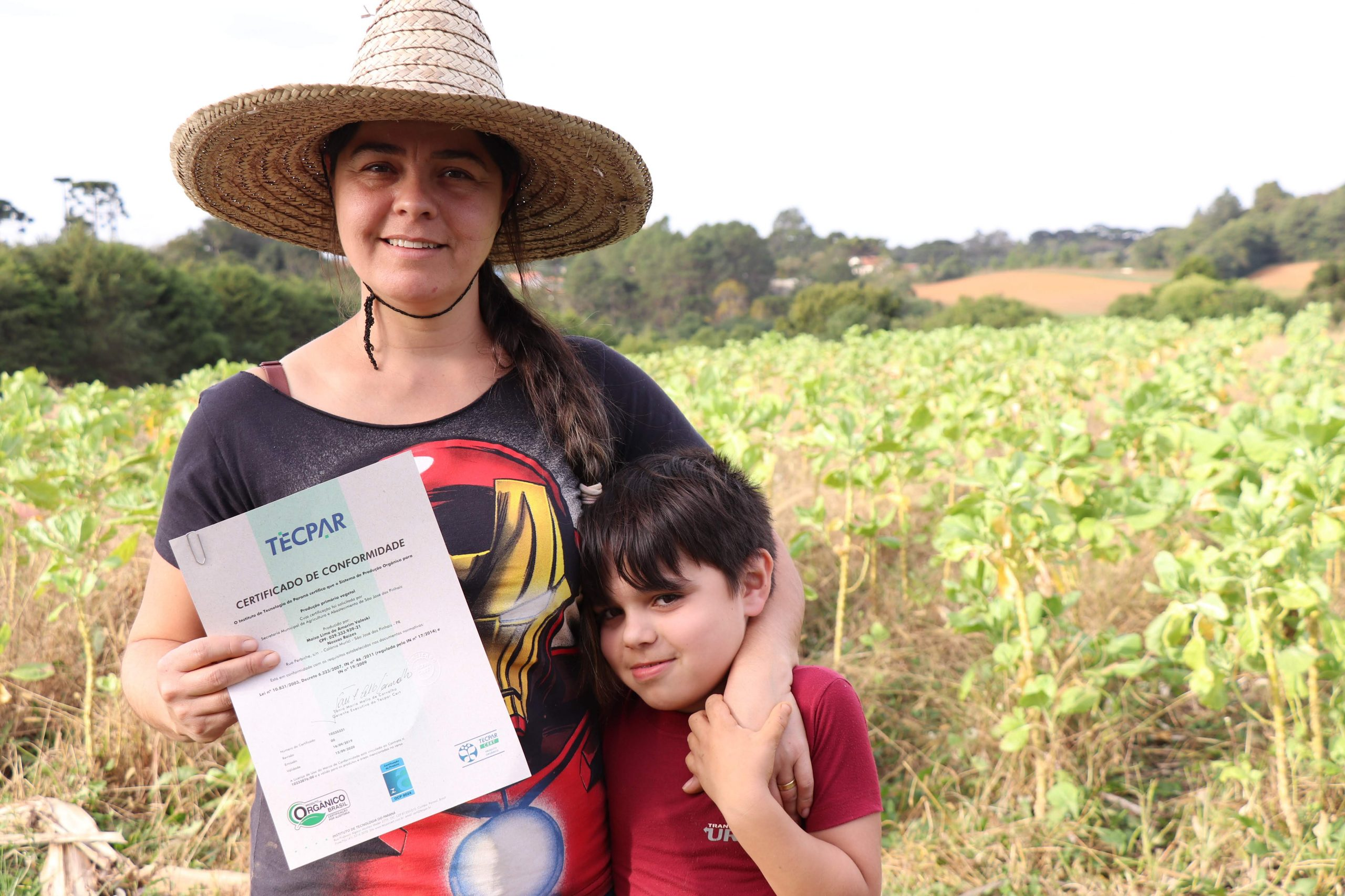 Tecpar Certifica Produtores Orgânicos Em Parceria Com Prefeitura De São José Dos Pinhais