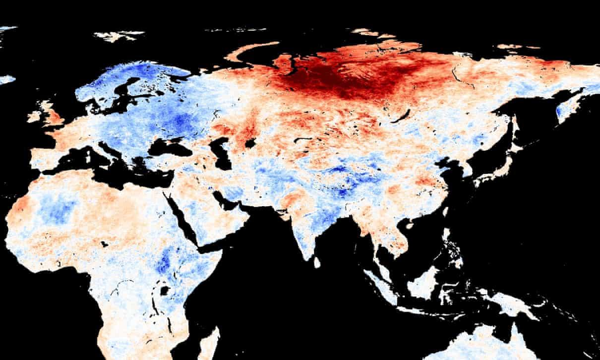 Mudanças Climáticas: Ondas De Calor Recorde Na Sibéria