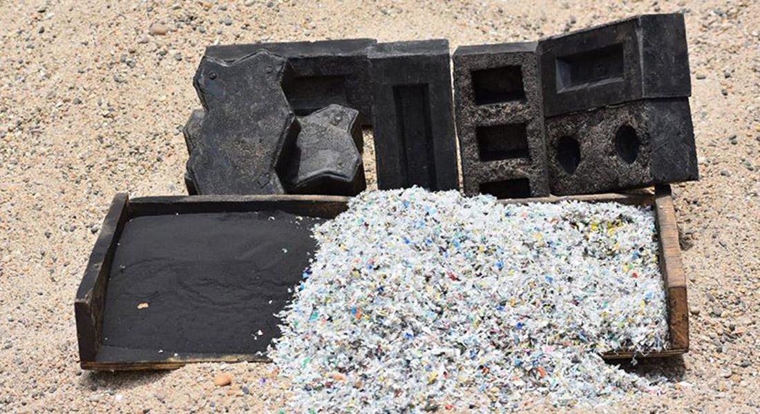 Indianos Desenvolvem Tijolo Ecológico Feito De Areia Reciclada + Resíduos De Plástico