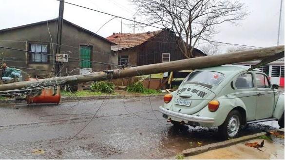 Relação Entre Mudanças Climáticas, Ciclone E Estiagem No Sul Do Brasil