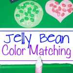 Open Ended Art – Yummy Jellybeans Mosaics And Printable