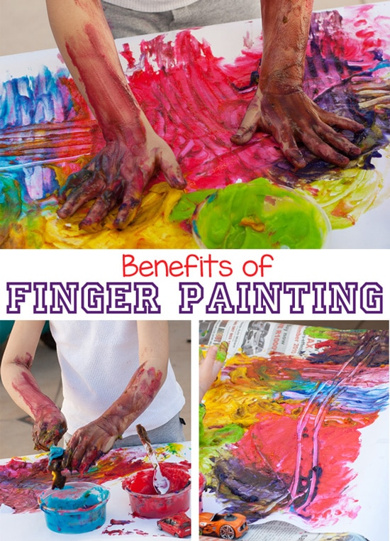 Finger Painting is not only fun for toddlers, preschoolers and elementary aged kids it also has many other benefits to the child as a whole. This post by Fun With Mama discusses some of the many benefits as well as the wonderful things you can do with fingerpaint