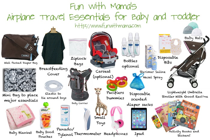 Tips Amp Essentials For Traveling And Flying With A Baby