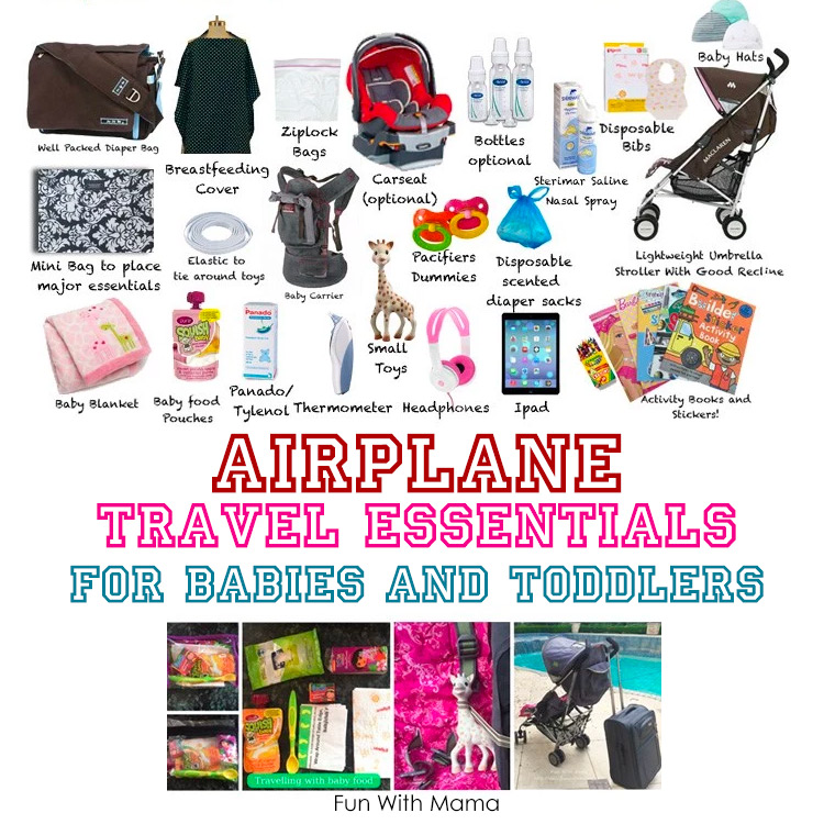 traveling with baby checklist
