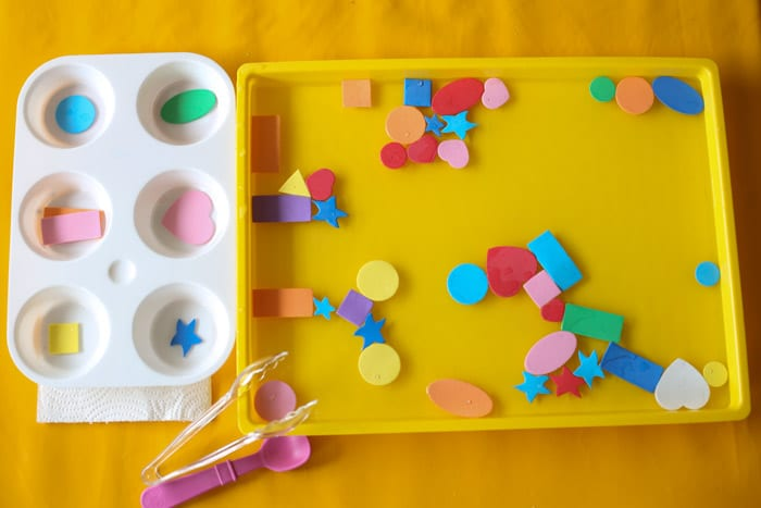 Best Colors And Shapes Activities For Preschoolers