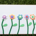 Spring Flower Matching Activity