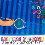 Alphabet Letter Fishing