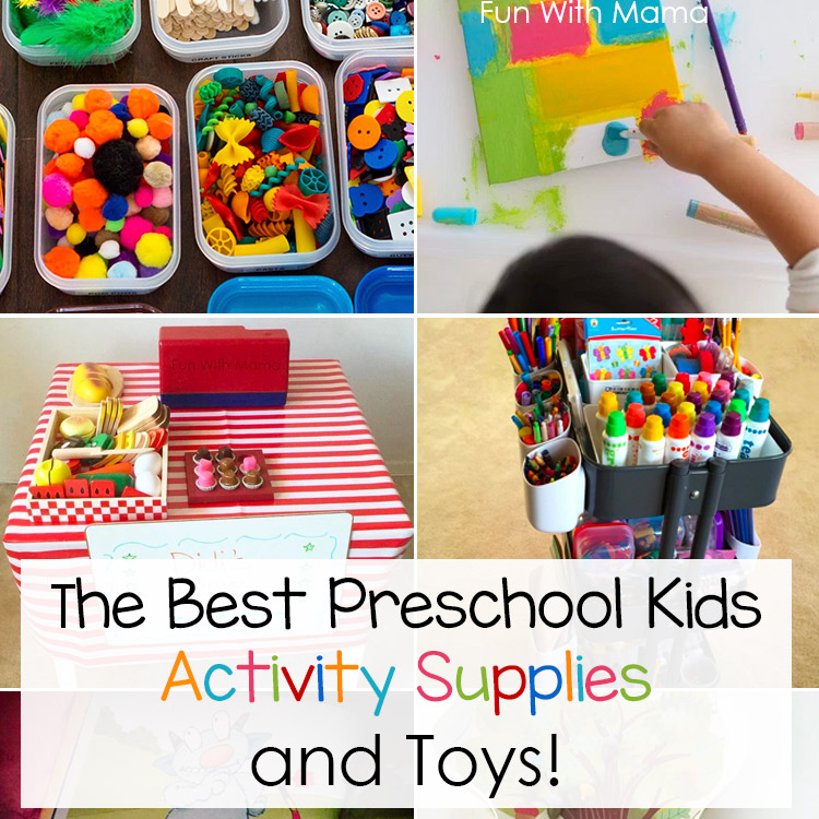 Best Preschool Toys : Best preschool kids activity supplies and toys fun with mama