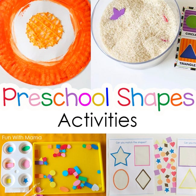 colors and shapes activities for preschoolers