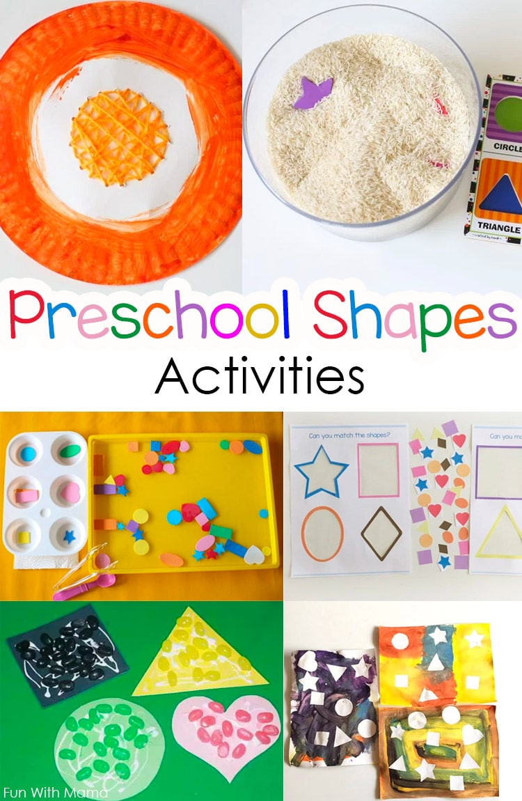 color projects for preschoolers best color and shapes activities for preschoolers 288