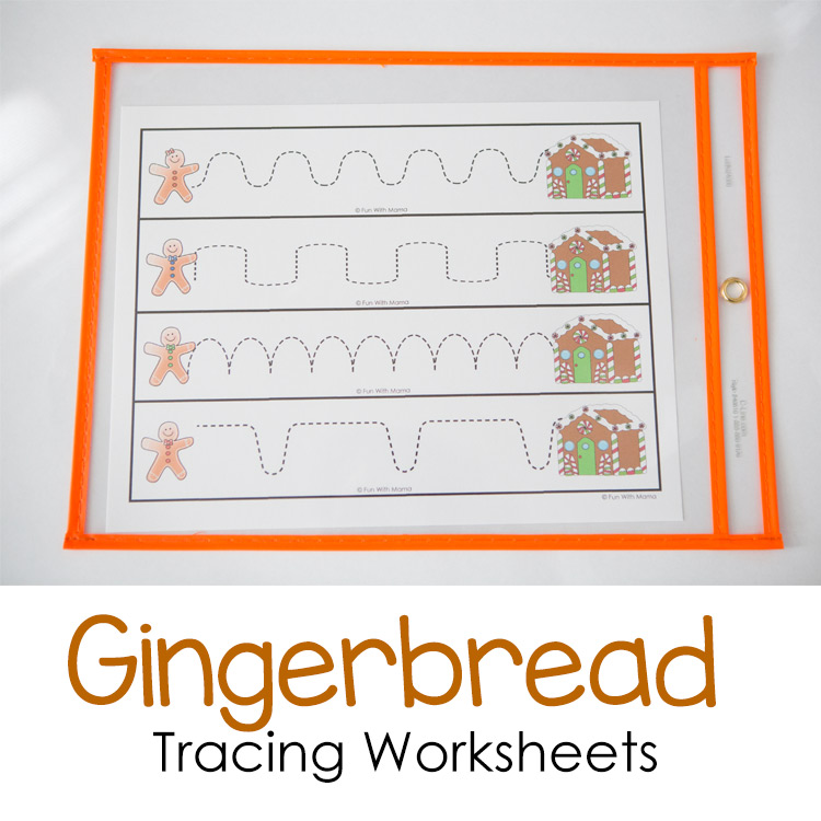 gingerbread-tracing