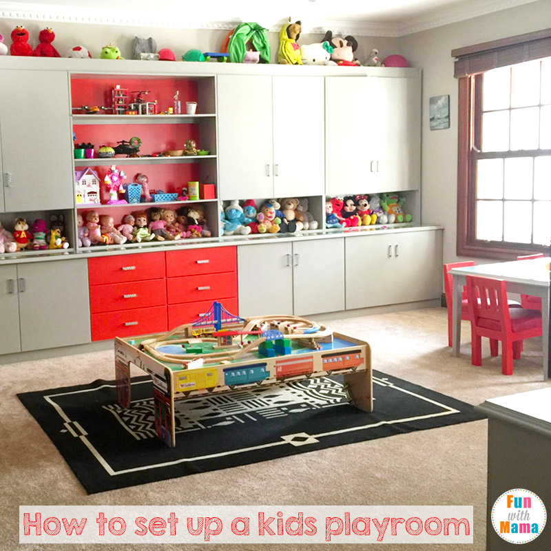 Playroom: How To Set Up A Kids Playroom