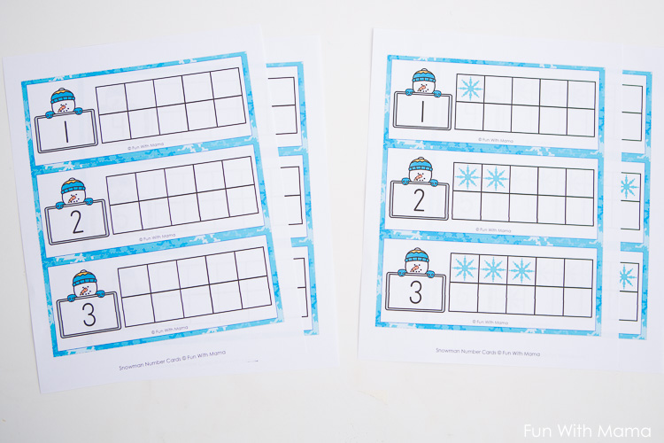 Common Worksheets » 10 Frame Worksheets - Preschool and ...