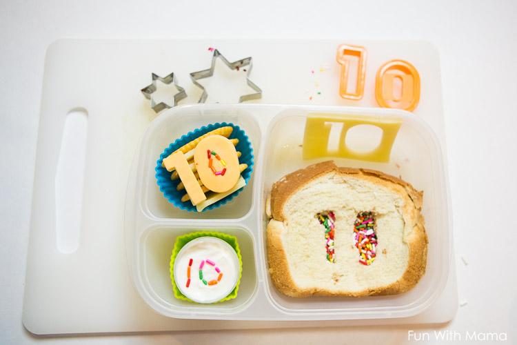 kids birthday school lunch