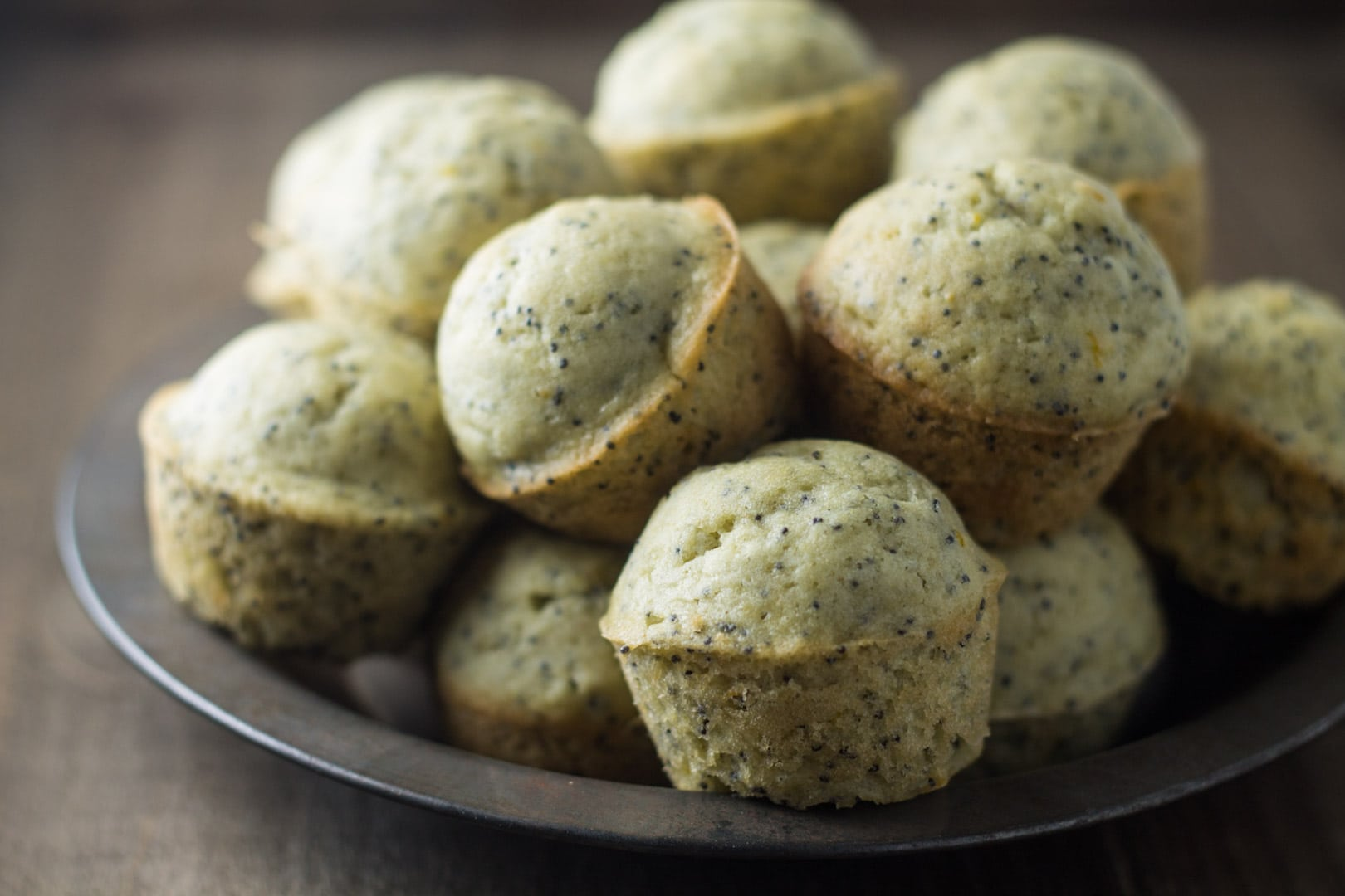 These Low Fodmap Lemon Poppy Seed Muffins just scream spring-time! Filled with fresh lemon flavor, these gluten free and dairy free muffins are de-lish for breakfast or brunch!