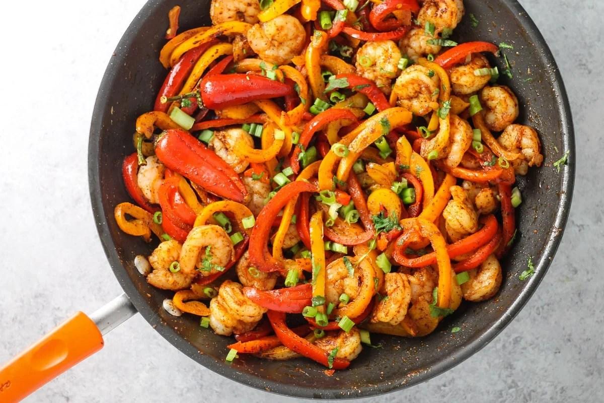 Low Fodmap Shrimp Fajitas FUN WITHOUT FODMAPS