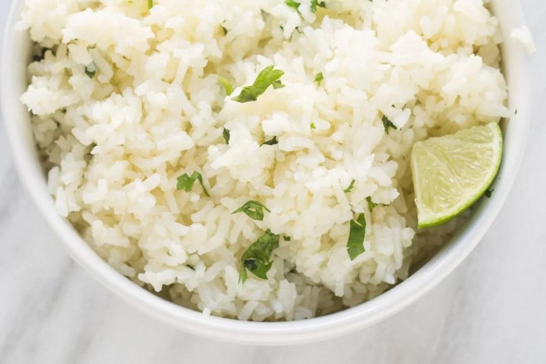 Low Fodmap Cilantro Lime Rice