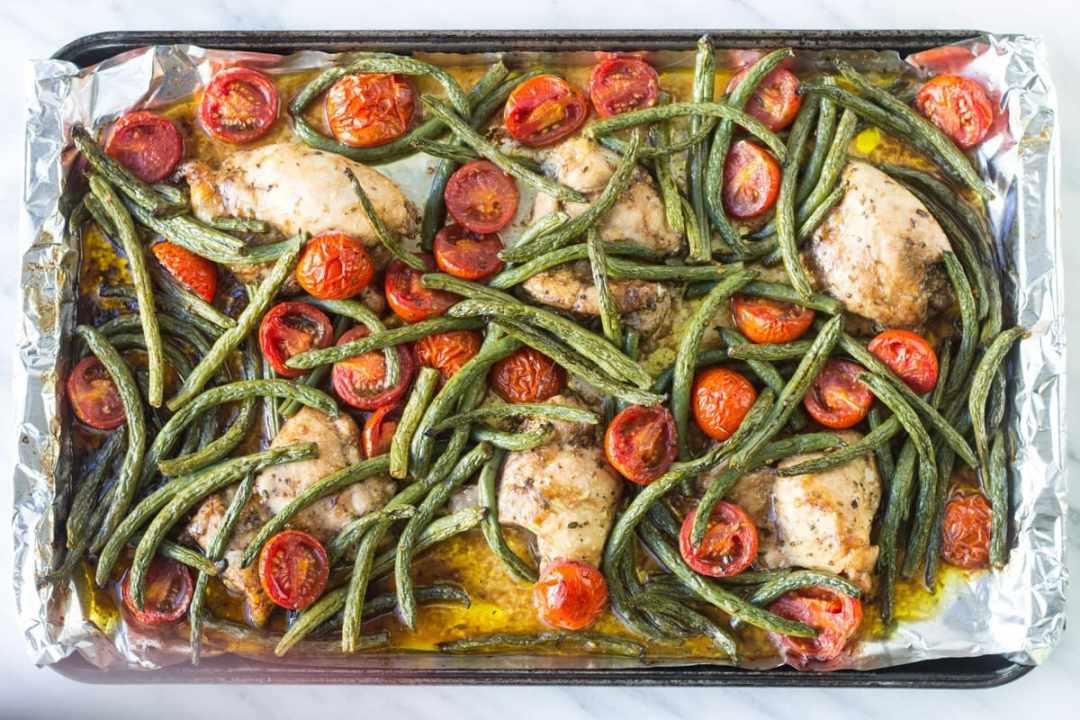 Low Fodmap Italian Chicken and Veggies