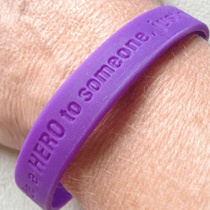 Ray of Hope Wristband