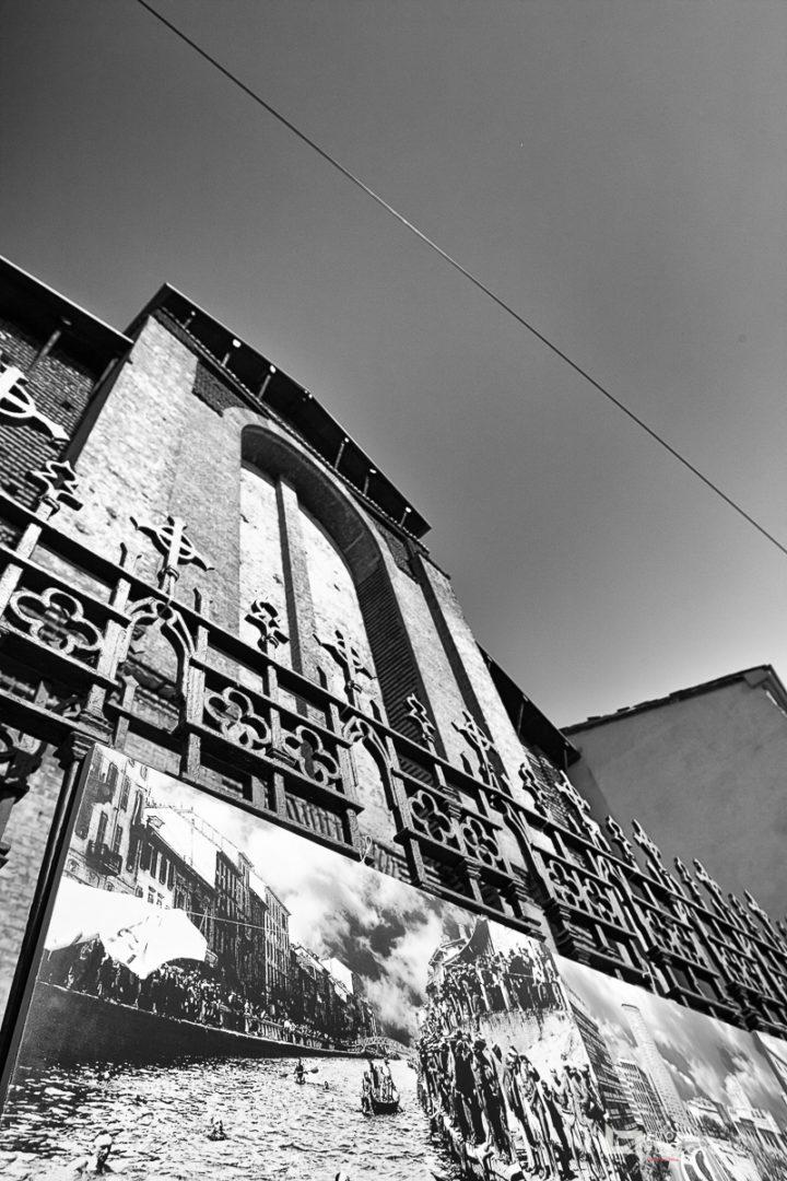 Navigli - bianco e nero a Milano ©FuoriFuoco.it