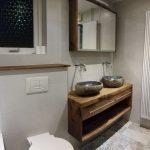 Badkamermeubel in rustiek eikenhout