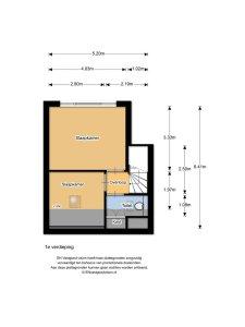 Plattegrond bovenverdieping