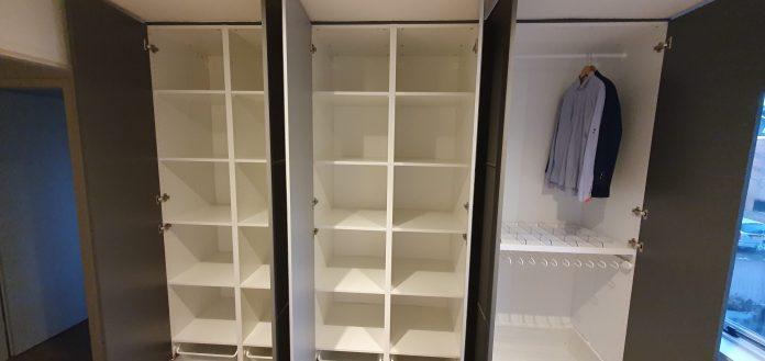 6 delige garderobekast