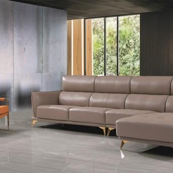 jxf3238 China Modern High end Design Luxury Living Room Furniture Leather Sofa