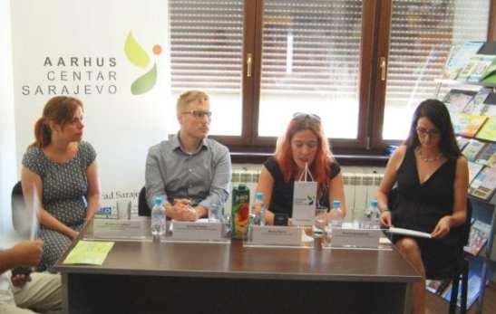 press conference Sarajevo