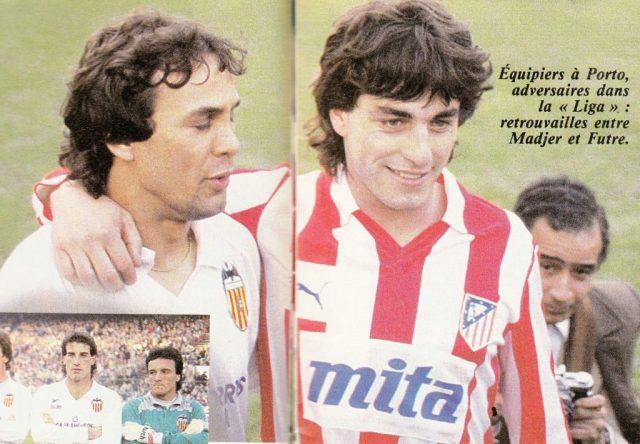 Futre et Madjer à Valencia en Liga